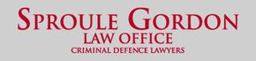 Sproule Gordon Law Office Criminal Defence Lawyers